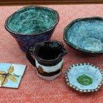 Pottery samples